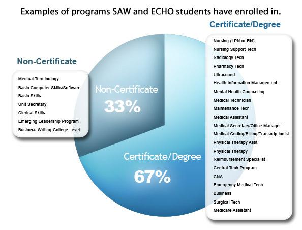 saw echo student programs