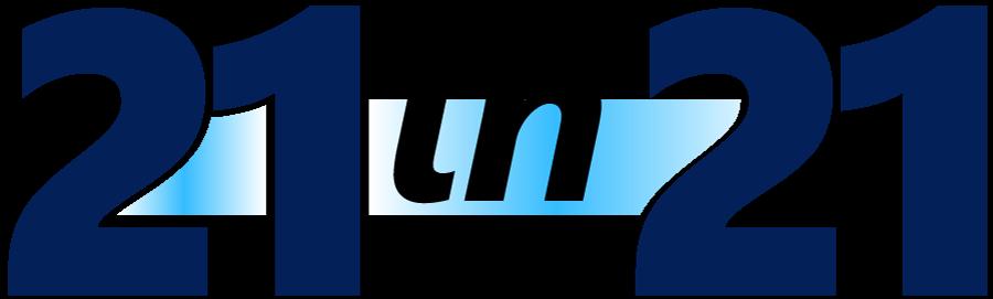 21 in 21 logo