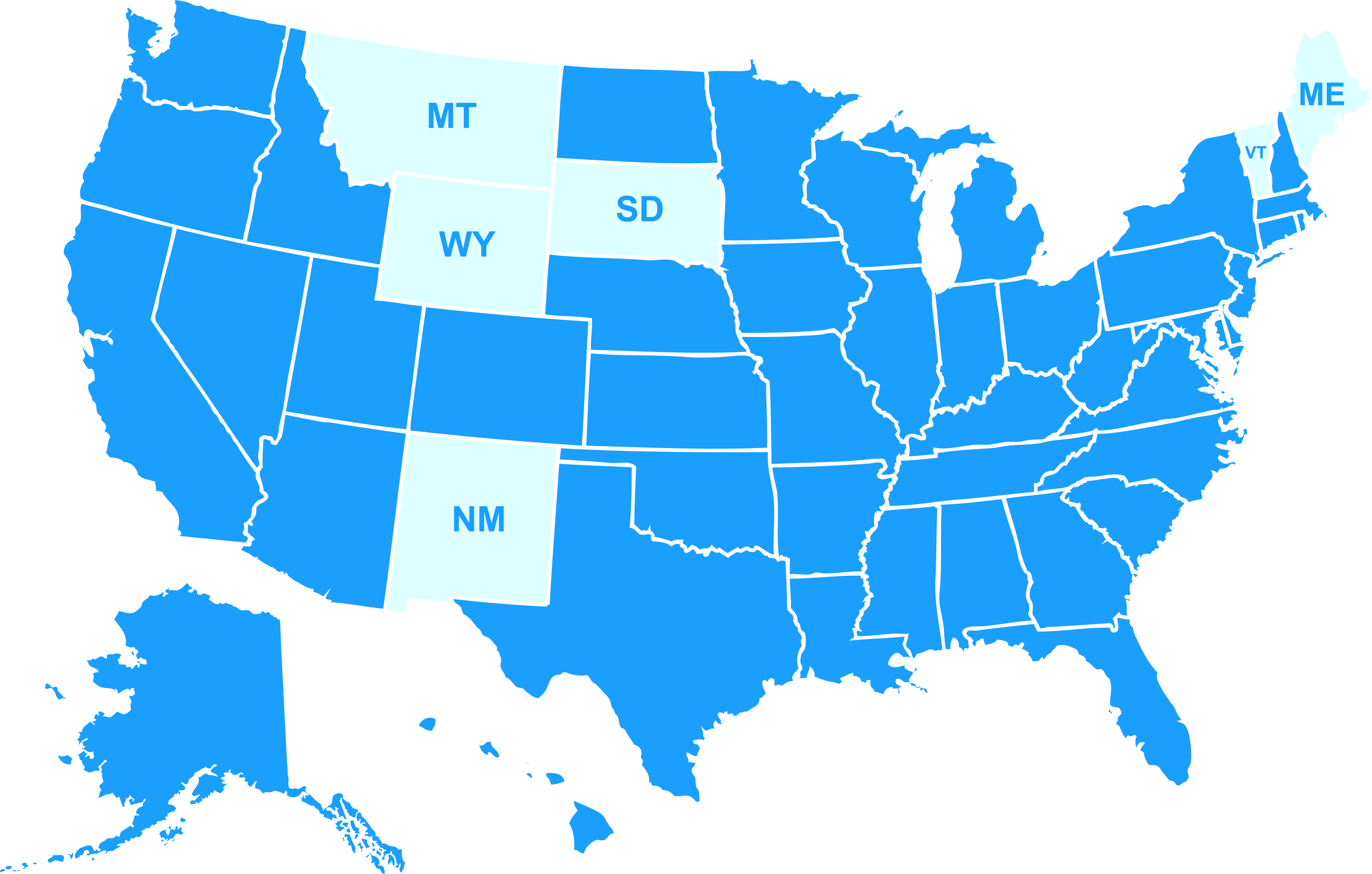 CLC Customers Across USA