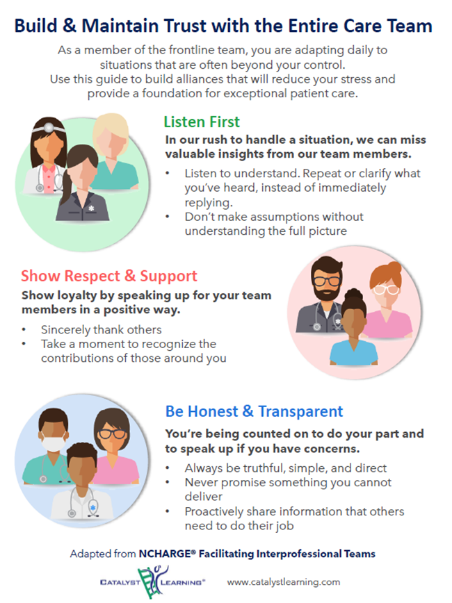 Building Trust with the Team Huddle Guide